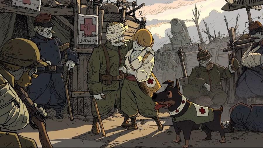 Valiant Hearts: The Great War - игра про Первую мировую