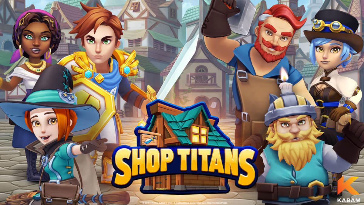 Shop Titans: Дизайн и Сделка —обзор и Гайд для начинающих