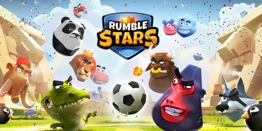 Rumble Stars Football - боевой футбол с животными