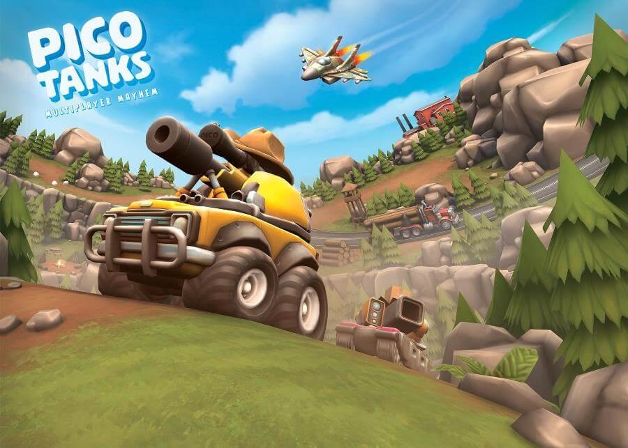 Pico Tanks - вот такими должны быть мобильные танки
