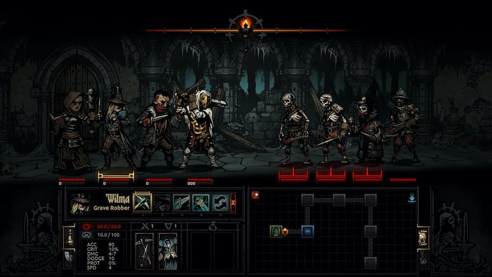 Гайд по Darkest Dungeon: Советы по героям