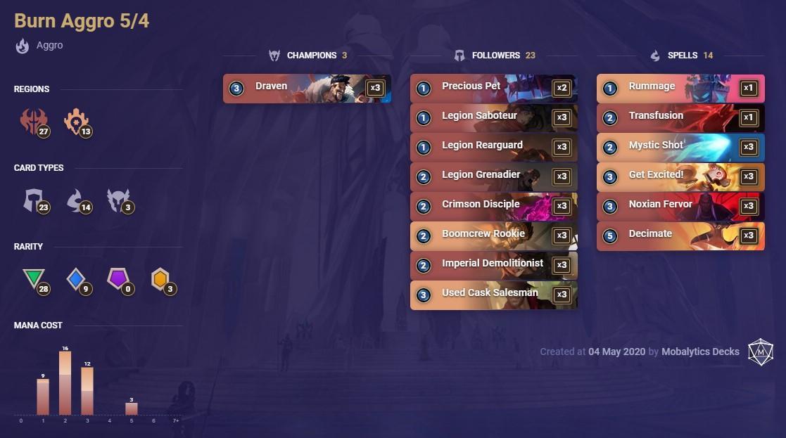 Появилась мобильная ККИ - Legends of Runeterra (обзор и лучшие колоды)
