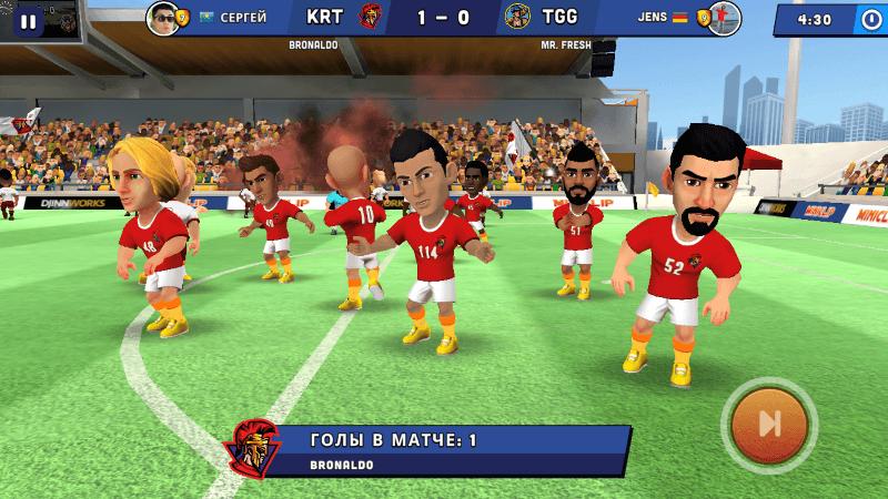Mini Football — вот до чего докатился мобильный футбол