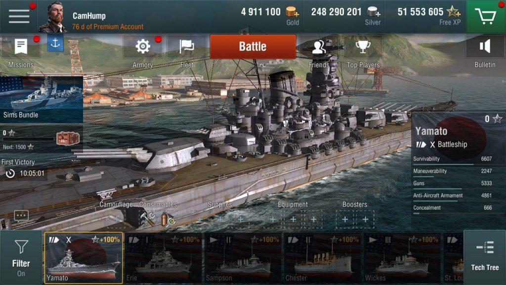 Как скачать World оf Warships бесплатно и советы новичку