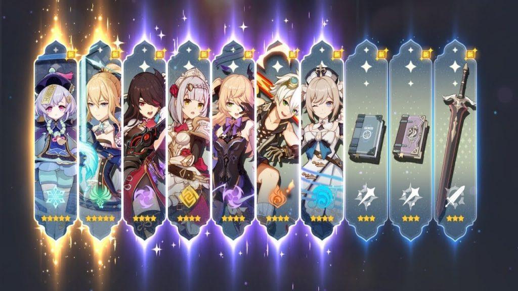 Genshin Impact —правильный рерол персонажей за 30 минут