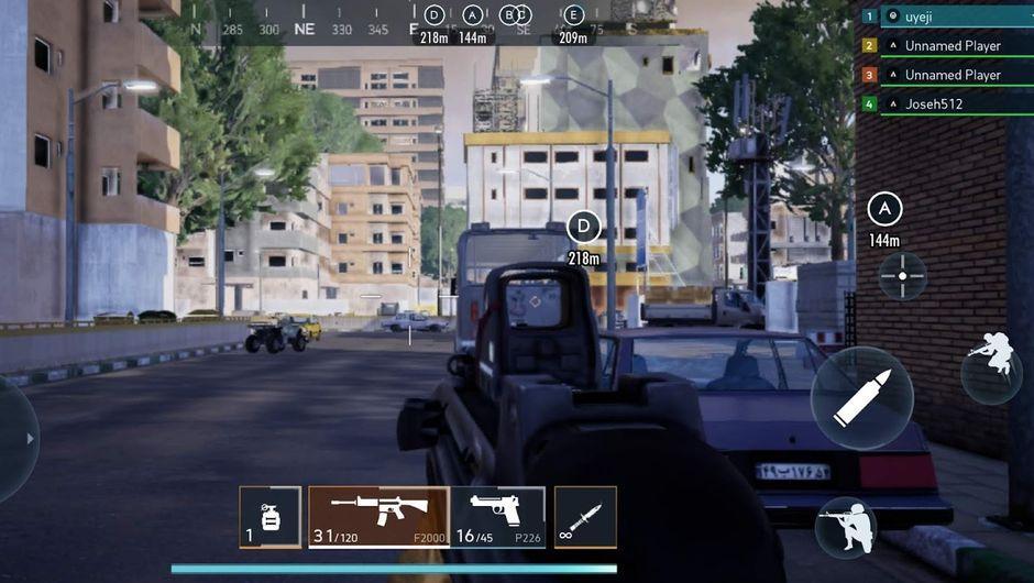 Скриншоты и гейплей видео Battlefield Mobile