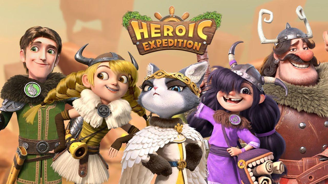 Heroic Expedition —обзор игры и советы по выбору героев