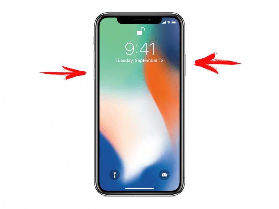как перезагрузить iPhone XS, XR и X, XS Max и X Max