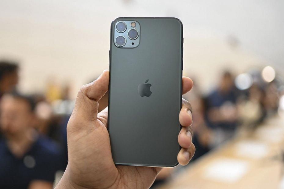 перезагрузка iPhone 11, 11 Pro и 11 Pro Max