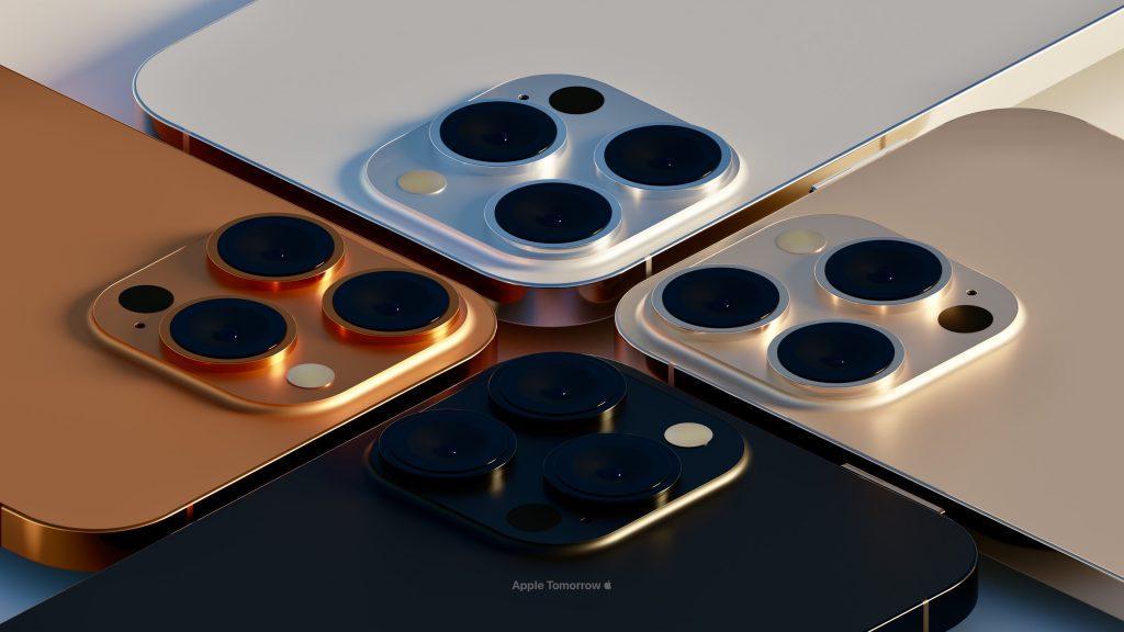новые цвета для iPhone 13